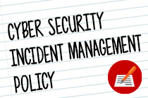 Cyber Security Incident Management Policy
