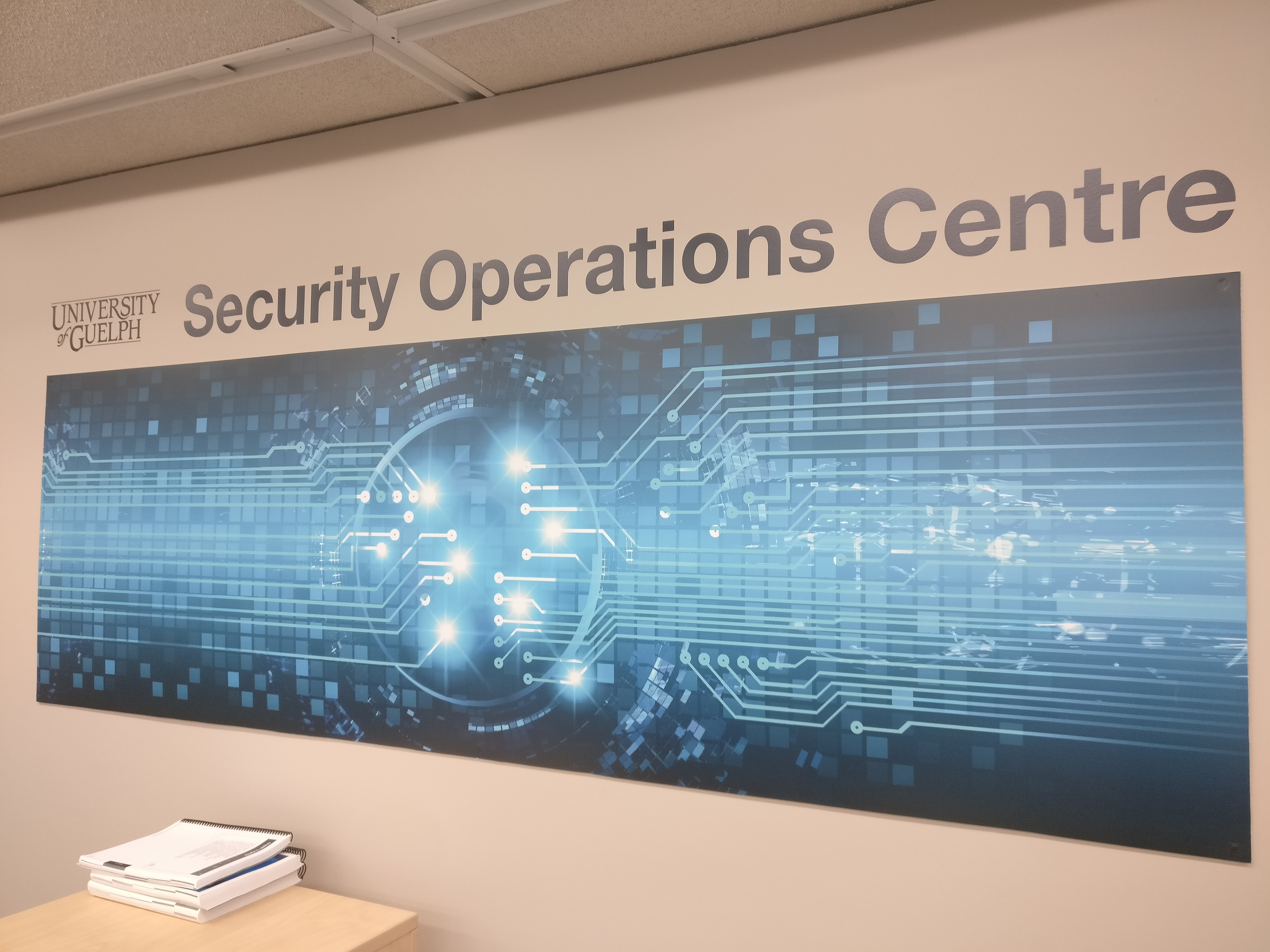 Security Operations Centre Wall Art.