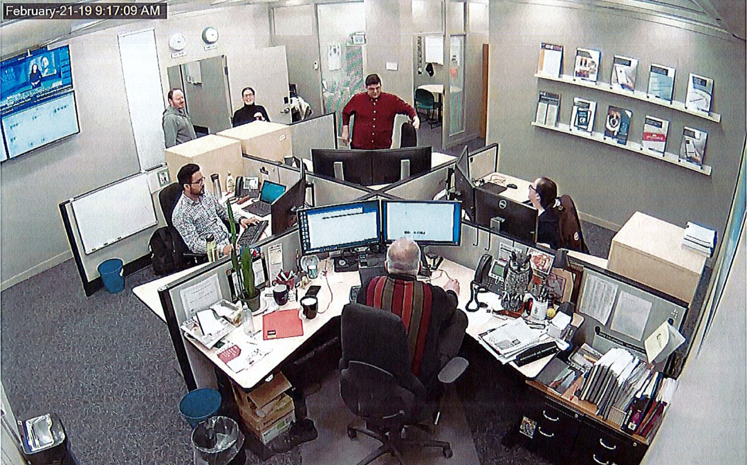 SOC Security Camera Snapshot.