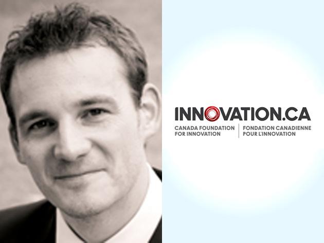 Portrait of Dennis Muecher and Innovation.ca logo