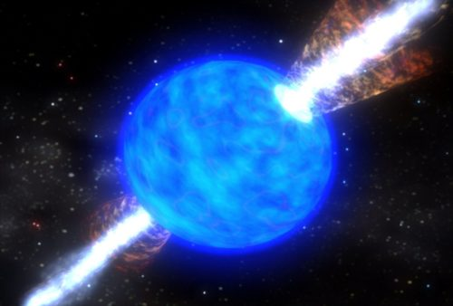 Artist's impression of a supernova