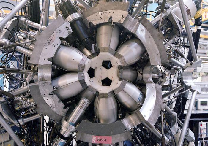8π spectrometer at the TRIUMF particle-accelerator centre in Vancouver, Canada