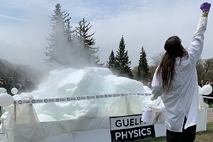 Image of World Record Breaking attempt with Physics during Science Olympics