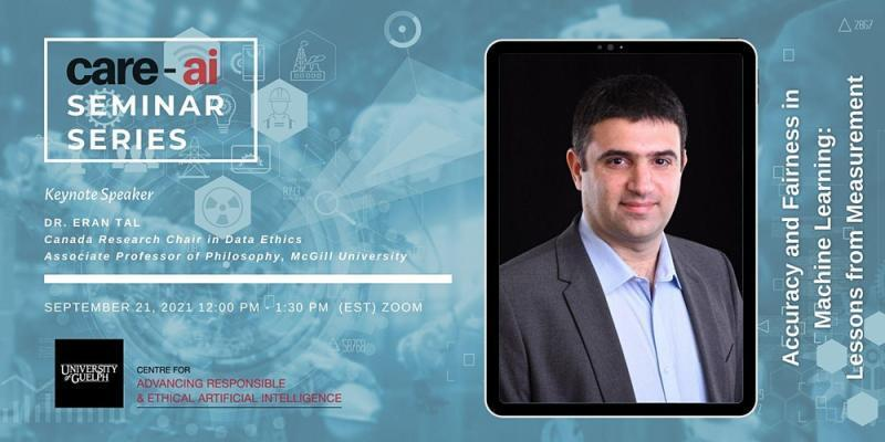 Promotional Image for Dr. Eran Tal's AI Research Seminar