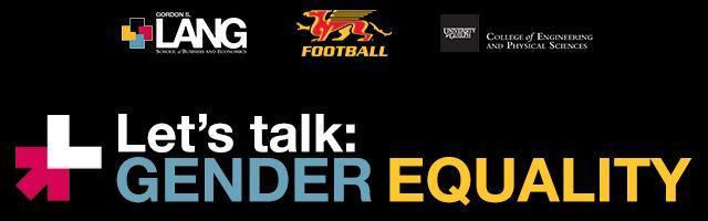 Promotional banner for Gender Equality workshops