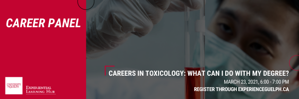 Promotional image for toxicology career event