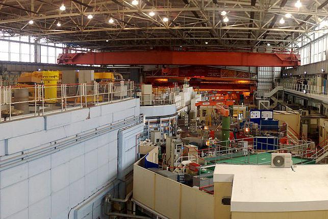 Wikipedia image of ISIS neutron hall