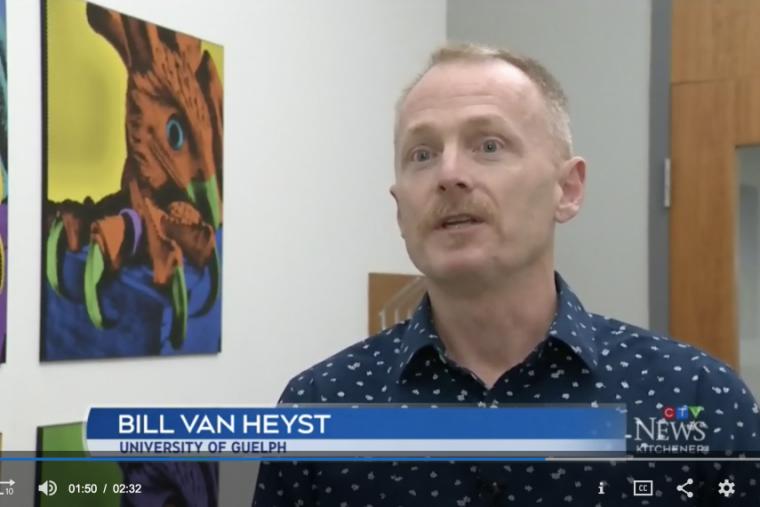 Associate dean Bill Van Heyst