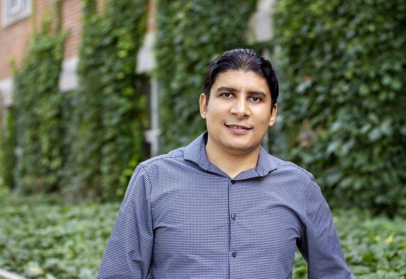 Portrait of Mohamed Hassan, Assistant Professor of Engineering