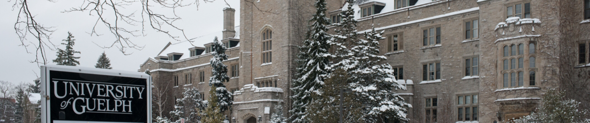 Johnston Hall in Winter