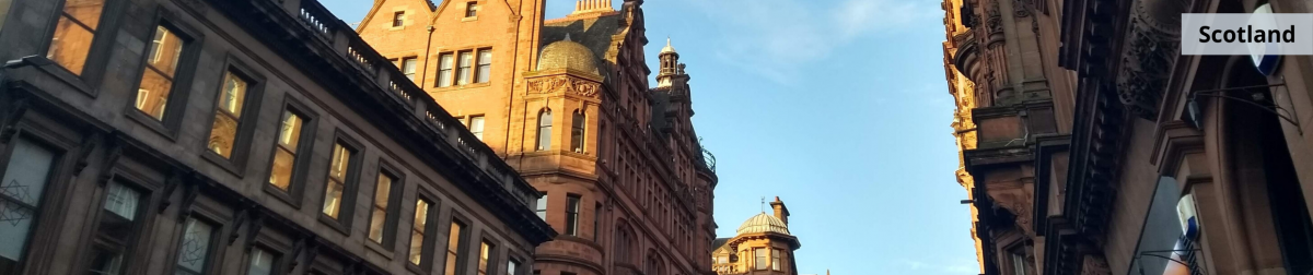 Scotland - buildings in the city
