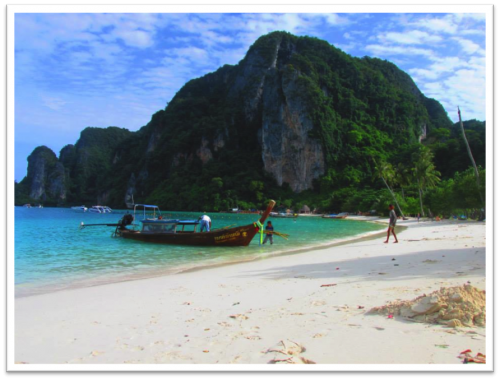 Photo of a beach in Thailand