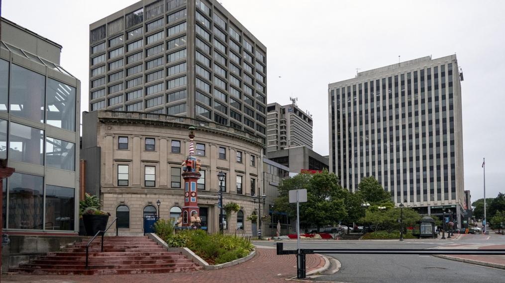 Saint John, N.B. cityscape