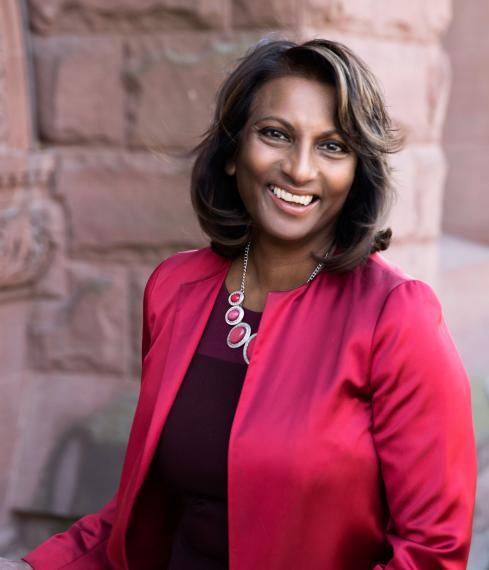 Photo of Indira Naidoo-Harris, AVP Diversity and Human Rights