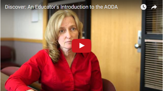 An Educator's Introduction to the AODA on YouTube
