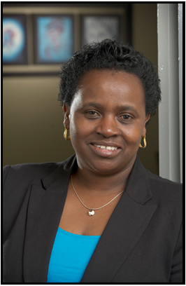 Photograph of Dr. Jane Ngobia, Assistant VP, Office of Diversity and Human Rights