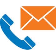 Image of phone and email icon