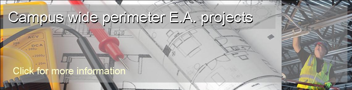 Campus E.A. Perimeter Project Info