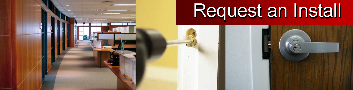 Request Electronic Access door installation info page