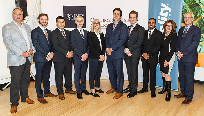 Guelph Student Investment Council members