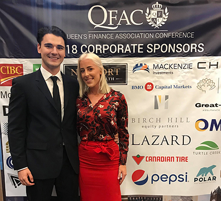 Luka and Haley at QFAC 2018