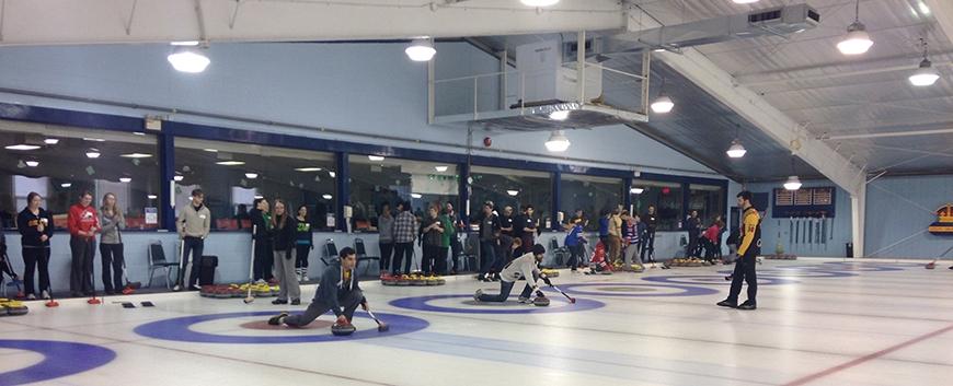 Bonspiel - curling