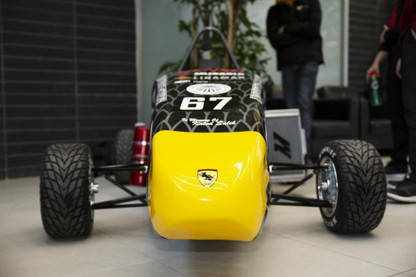 Gryphon Racing Team new car, GRC-19.