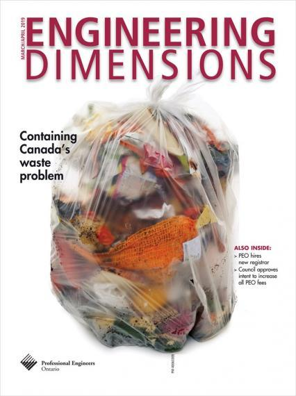 Cover of 'Engineering Dimensions' publication