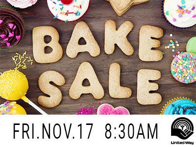 United Way Bake Sale