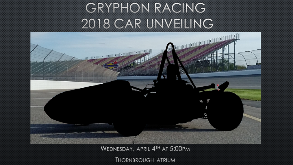 Gryphon Racing 2018 Car Unveiling