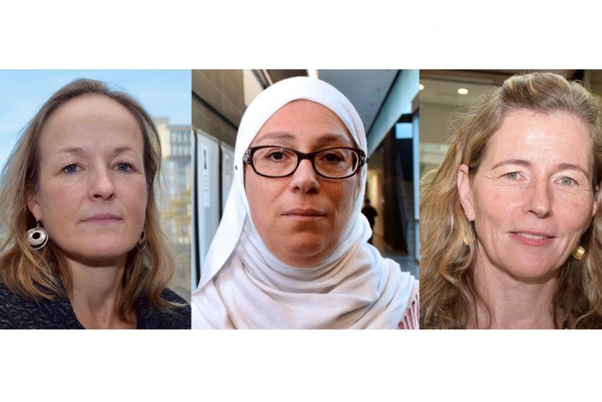 3 women from Guelph Engineering
