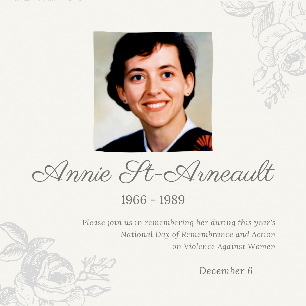 Anne St-Arneault. 1966 to 1989.