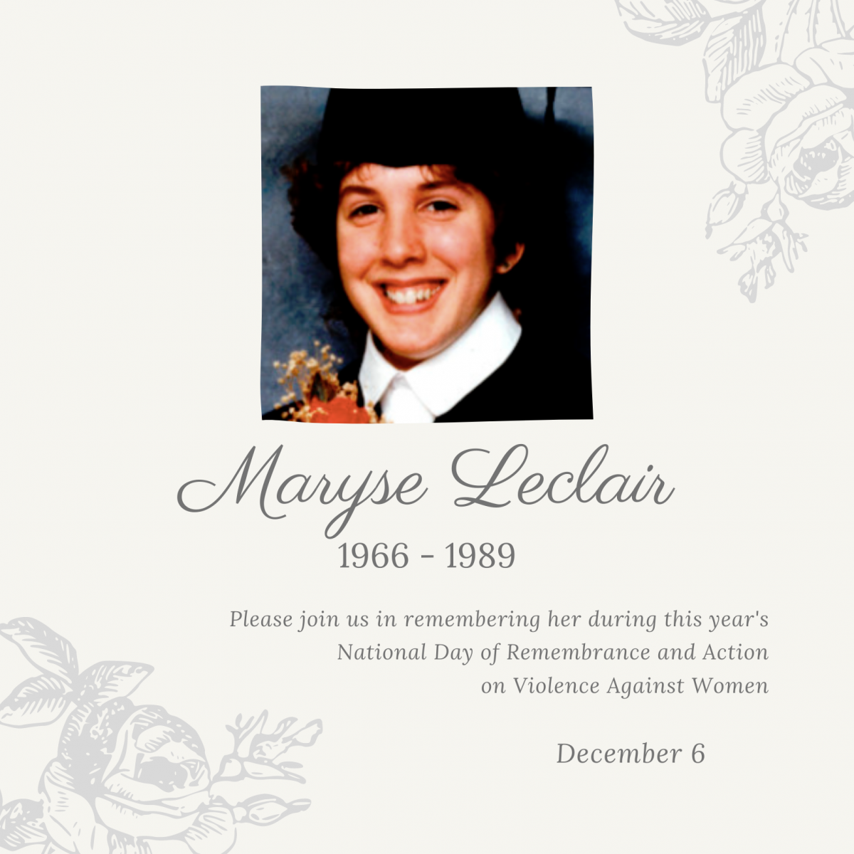 Maryse Leclair. 1966 to 1989.