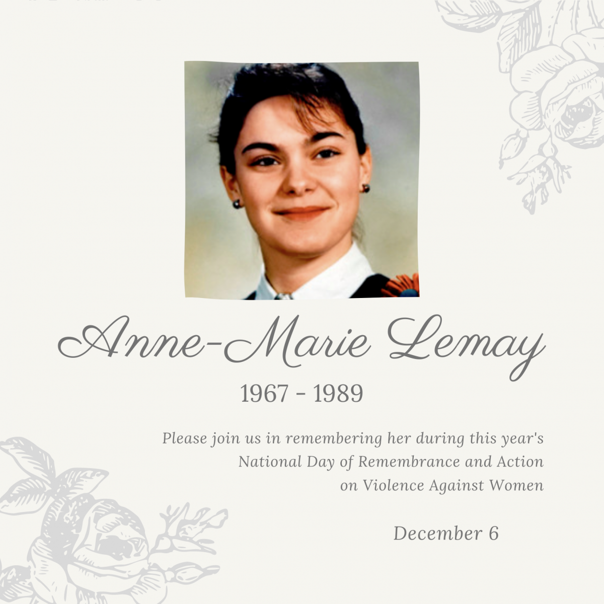 Anne-Marie Lemay. 1967 to 1989