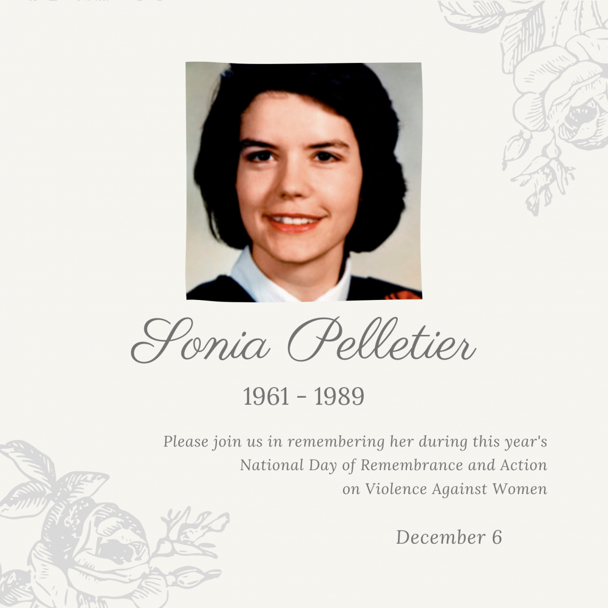 Sonia Pelletier. 1961 to 1989.