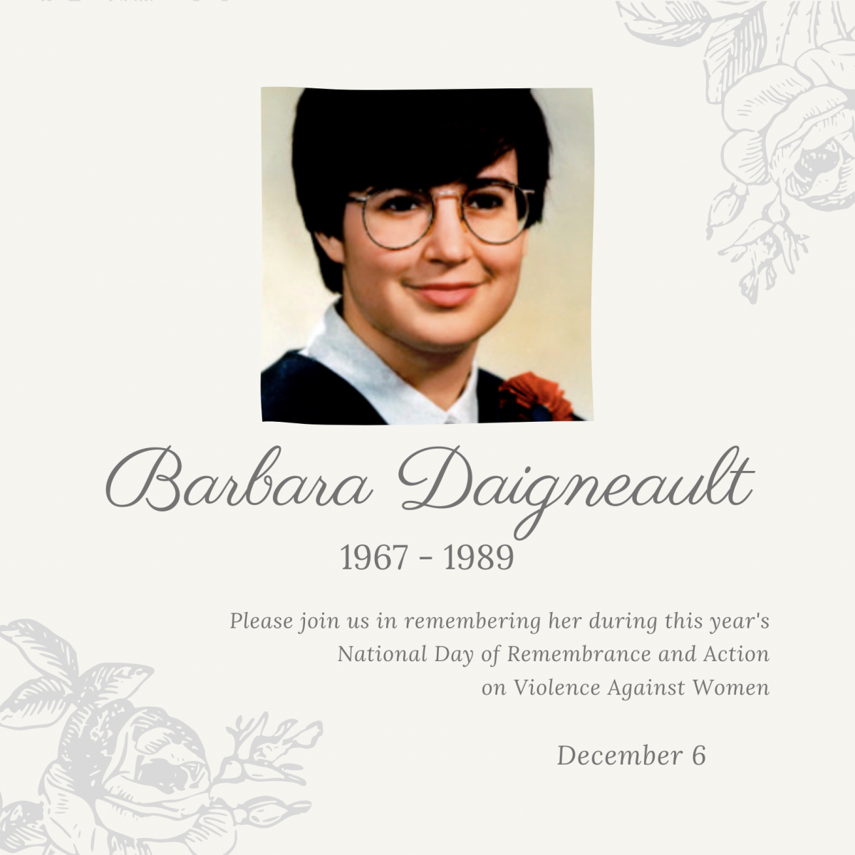 Barbara Daigneault. 1967 to 1989.