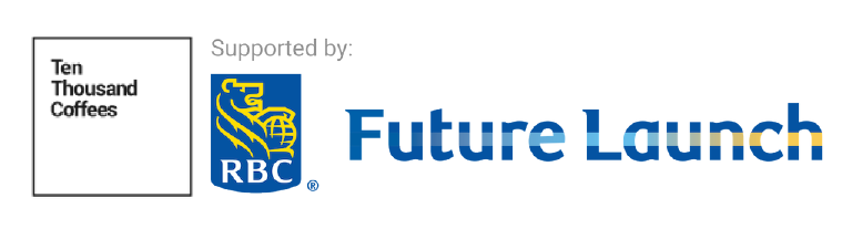 Ten Thousand Coffees/RBS Future Launch logo