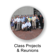 Class Projects and Reunions