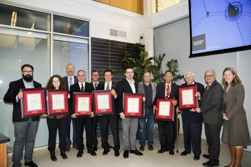 2017 Alumni Awards Recepients