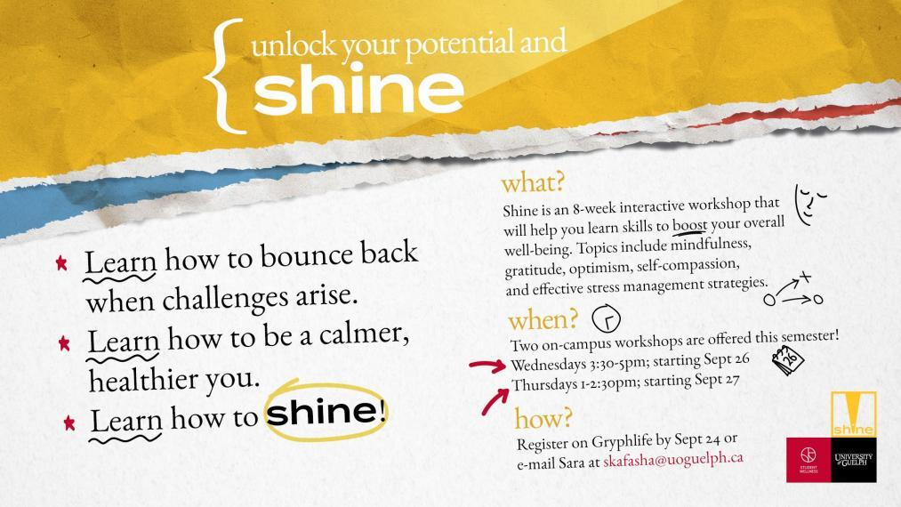 Shine event