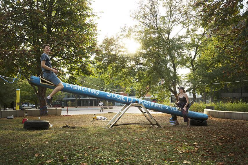 Teeter-totter-a-thon