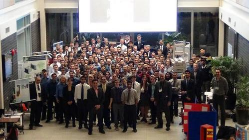 Machine Design Trade Show Group Photo