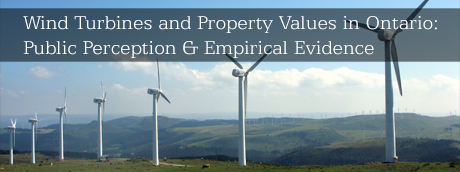 Wind Turbines and Property Values in Ontario