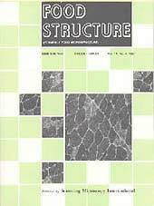 Image of the Food Structure Journal