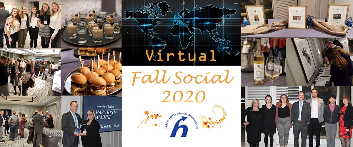 Fall social collage