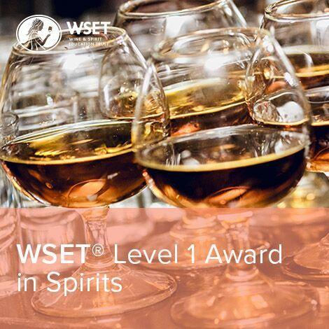 WSET Level 1 Award in Spirits logo