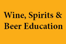 Wine, spirits and beer education