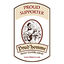 Proud Supporter Prud'homme logo