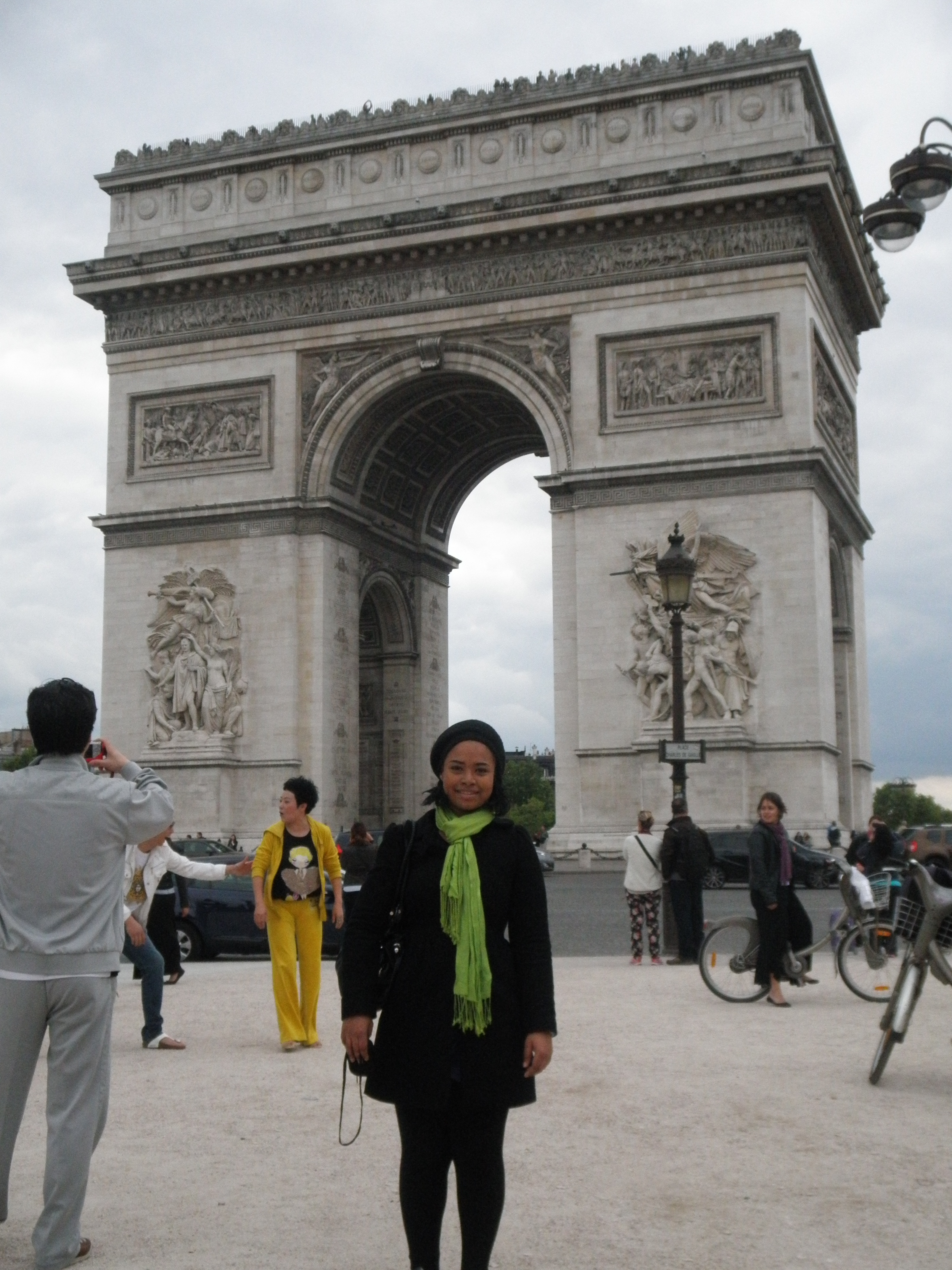 Photo of Avianne Birkett in Paris