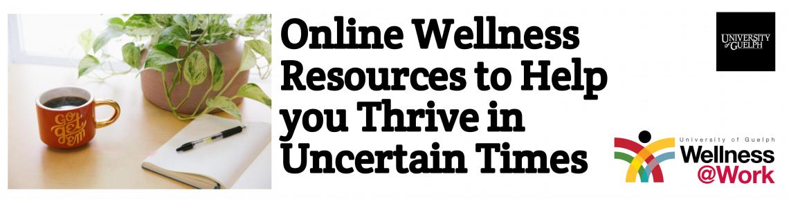 Wellness@Work Resources Banner